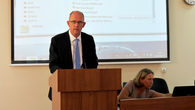 World Bank experts and business discussed economic prospects in Bulgaria at VUZF