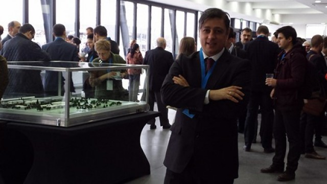 "Assoc. Prof. Evgeni Evgeniev at the international seminar ""Culture and Sustainable Development"""