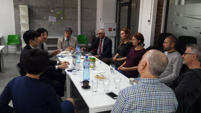 Partnership between VUZF University and Republic of Korea and recent visit of Korean experts in Bulgaria