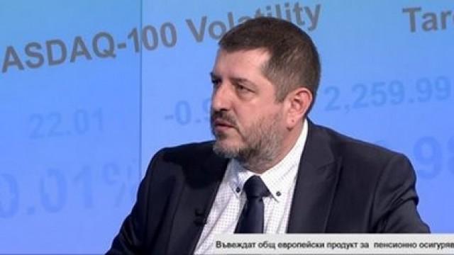 Д-р Радостин Вазов с интервю пред Bloomberg TV на тема общоевропейски продукт за лично пенсионно осигуряване