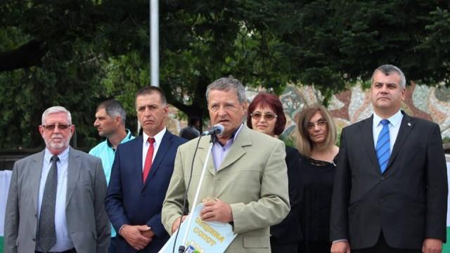 Ректорът на ВУЗФ доц. д-р Григорий Вазов присъства на традиционните Вазови празници в гр. Сопот