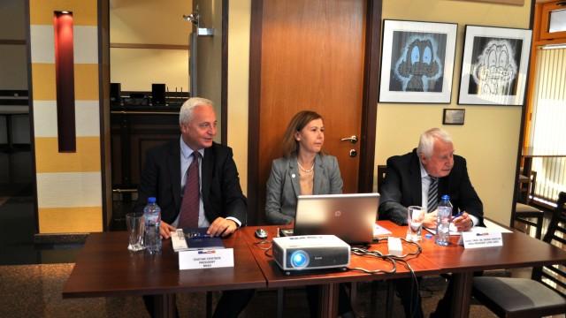 Участие на главния секретар на ВУЗФ в работно посещение на делегация от Сметната палата на Македония