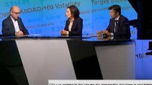"""Доц. д-р Виржиния Желязкова, зам.- ректор на ВУЗФ, с коментари за Бюджет 2019 в предаването """"Бизнес старт"""" по Bloomberg TV Bulgaria"""