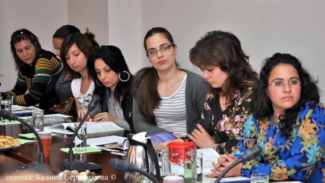 Среща на бакалаври от ВУЗФ с бизнес дами