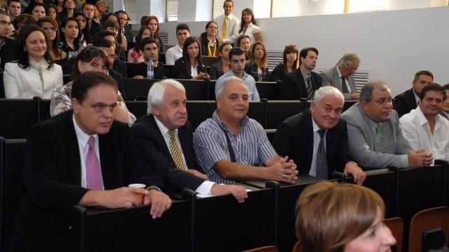 Откриване на академичната година 2011/2012, бакалавър, магистър