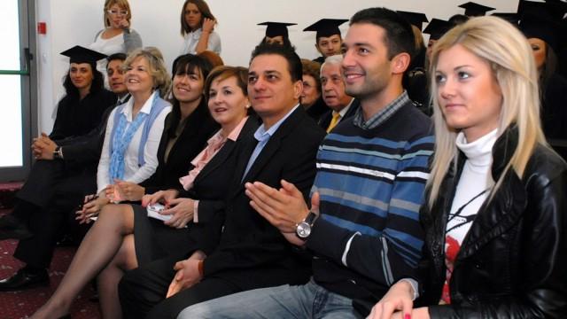 Дипломиране на Випуск 2011, бакалавър