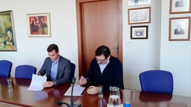 ВУЗФ подписа споразумение за сътрудничество с Изпълнителната агенция за насърчаване на малките и средните предприятия (ИАНМСП)