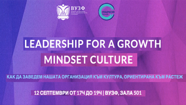 Leadership for a growth mindest culture