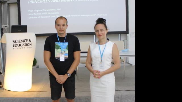 """ВУЗФ със силно участие на международните научни конференции """"Икономика и бизнес"""" и """"Екология и безопасност"""""""