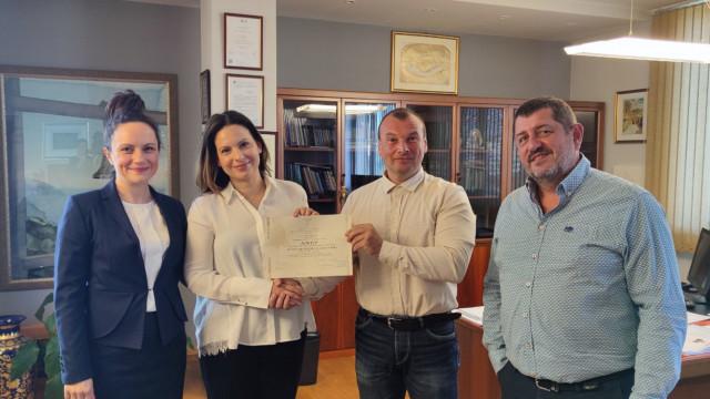 """Публична защита на дисертация за присъждане на образователната и научна степен """"доктор"""" на докторанта Мария Филиповска - Димитрова"""